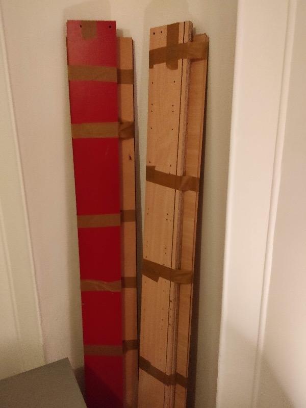 Recyclage, Récupe & Don d'objet : bibliothèque bois