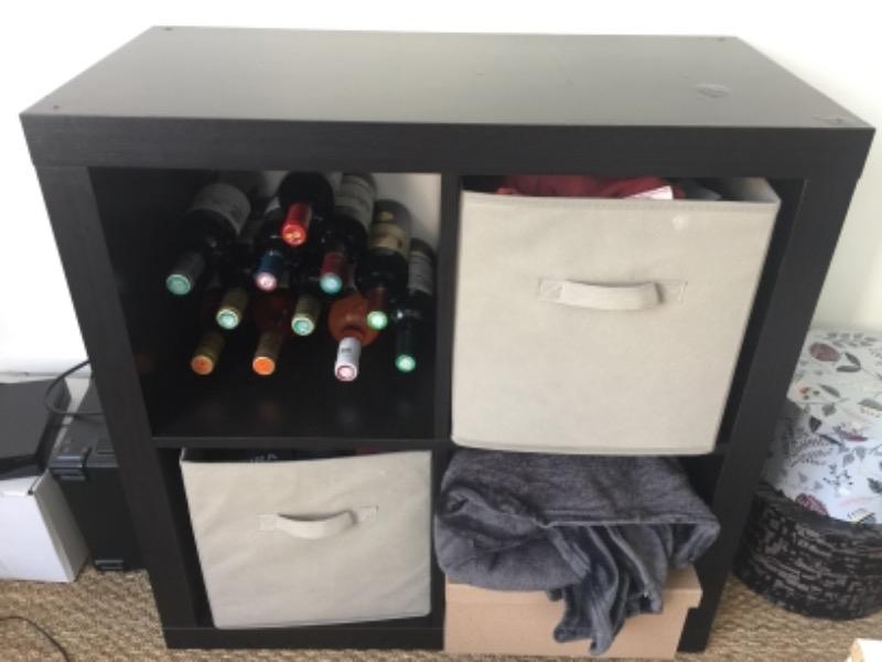 Recyclage, Récupe & Don d'objet : kalax 4 cases brun