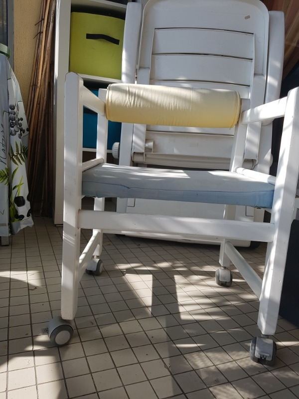Recyclage, Récupe & Don d'objet : chaise roulante
