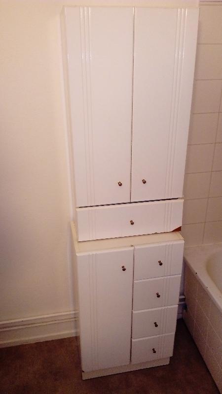 Recyclage, Récupe & Don d'objet : meubles blancs