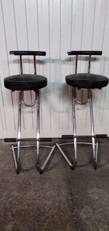 Recyclage, Récupe & Don d'objet : 2 chaises de bar