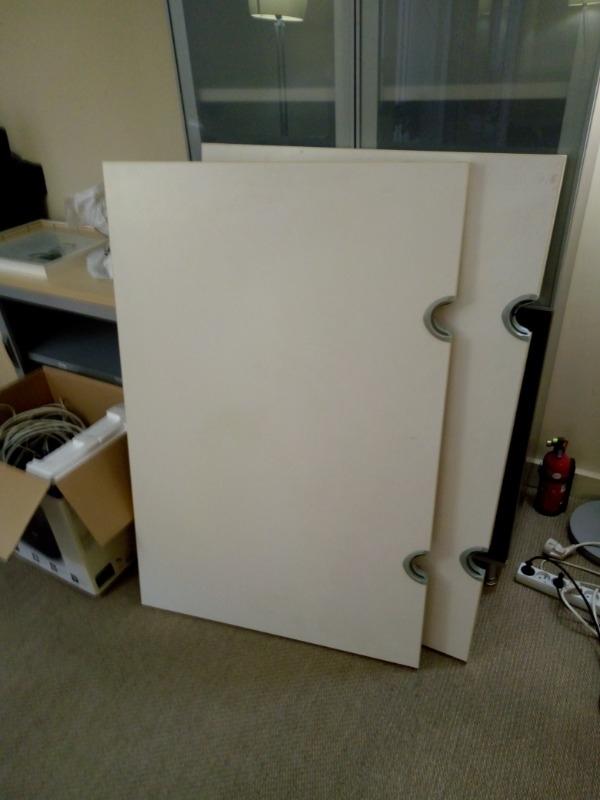 Recyclage, Récupe & Don d'objet : 2 tables 80x120