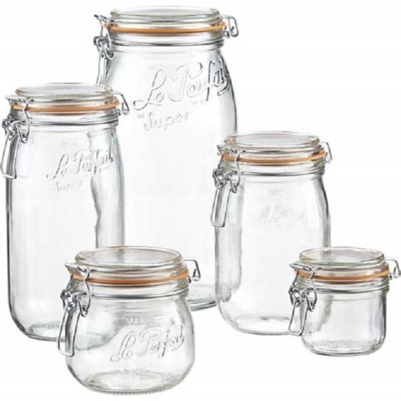 Recyclage, Récupe & Don d'objet : 12 bocaux le parfait - différentes tailles