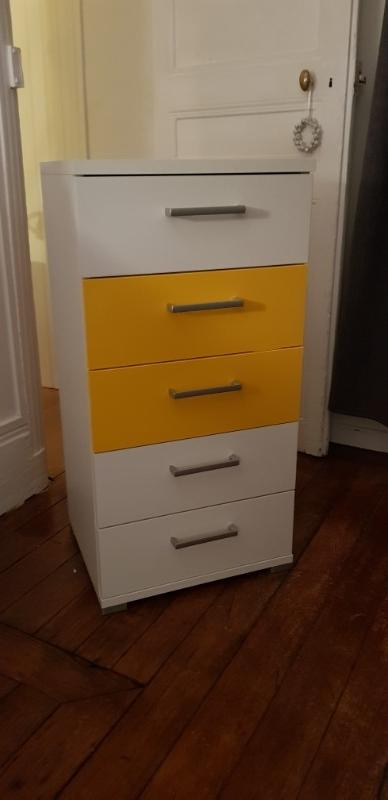 Recyclage, Récupe & Don d'objet : meuble à tiroirs
