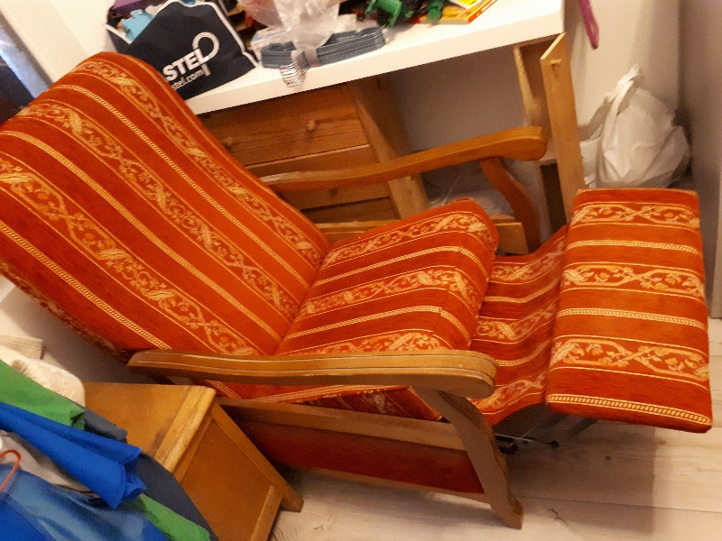 Recyclage, Récupe & Don d'objet : fauteuil relax manuel