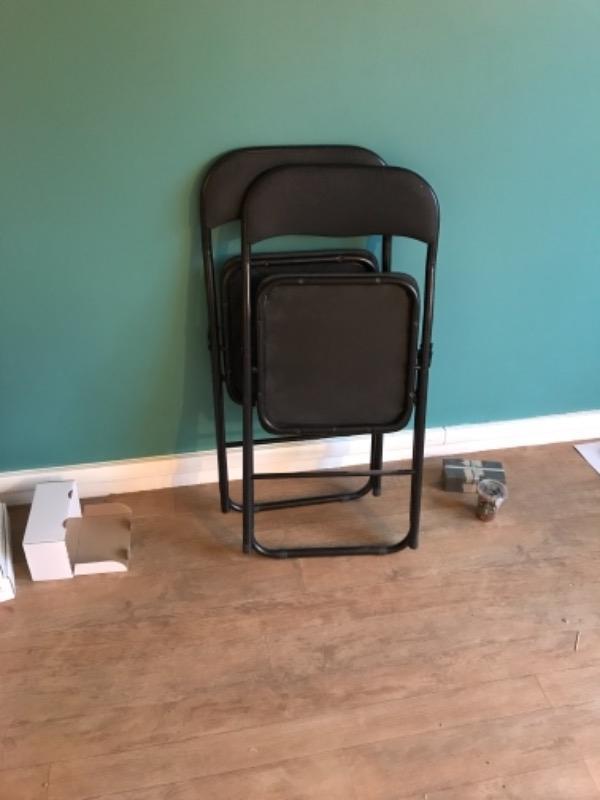 Recyclage, Récupe & Don d'objet : 2 chaises pliables