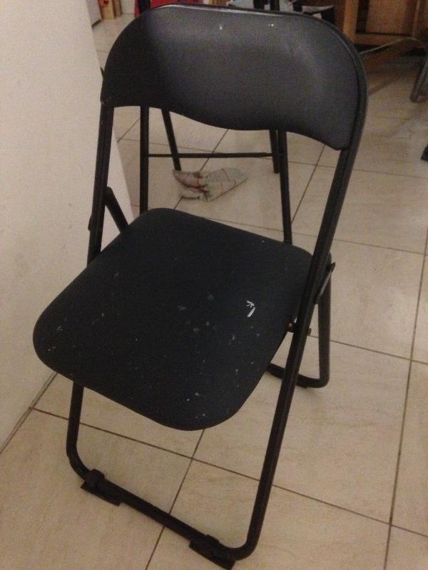 Recyclage, Récupe & Don d'objet : chaises de tables