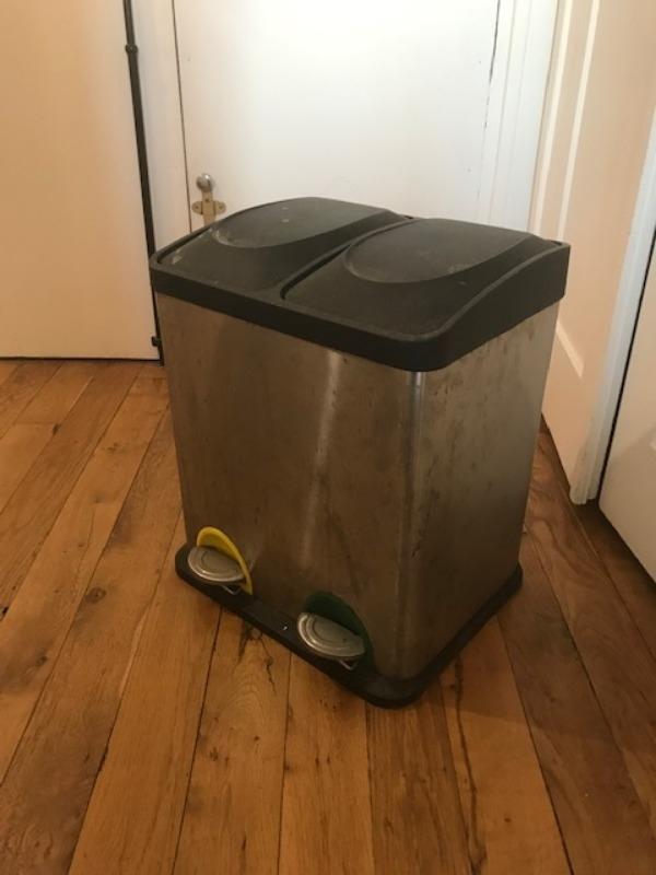 Recyclage, Récupe & Don d'objet : poubelle de tri