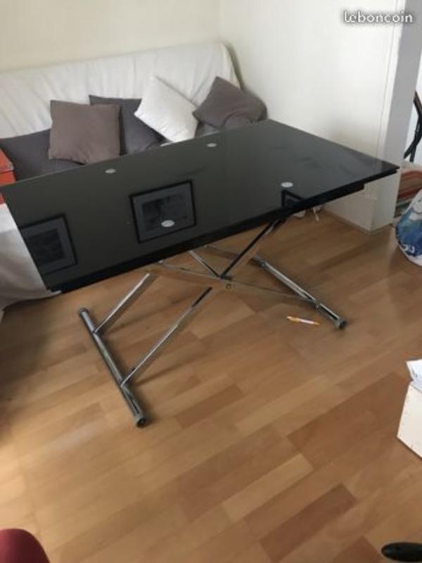 Recyclage, Récupe & Don d'objet : table relevable