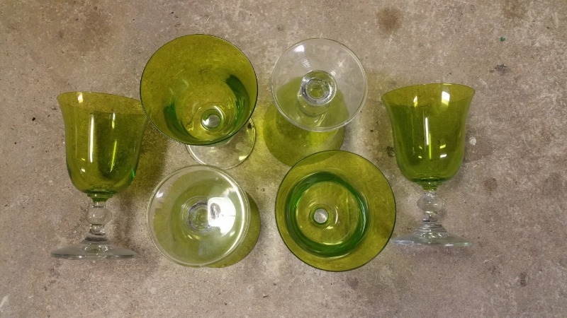 Recyclage, Récupe & Don d'objet : verre à pied