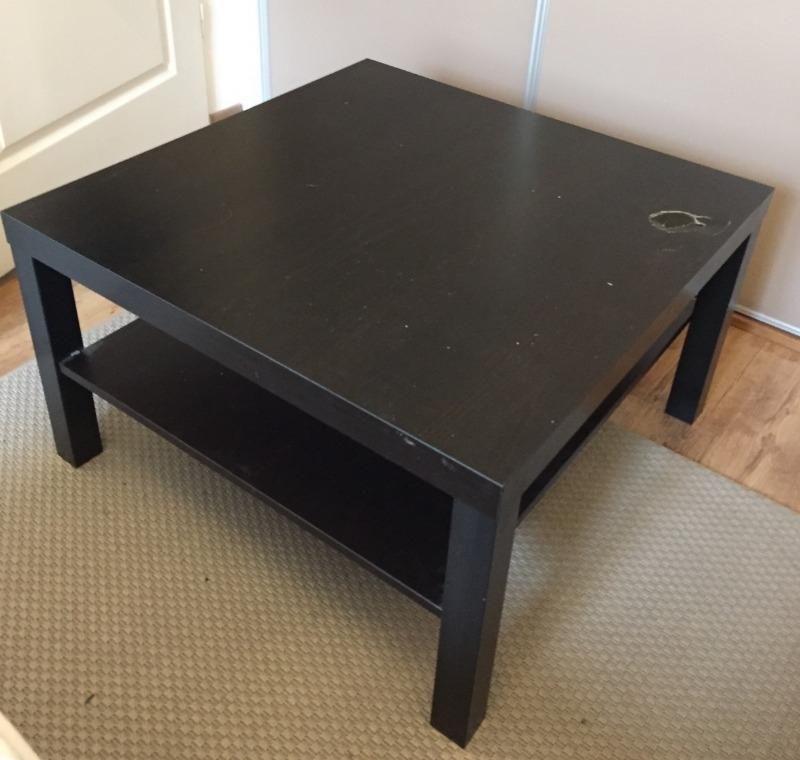 Recyclage Objet Recupe Objet Donne Table Basse Ikea Noir