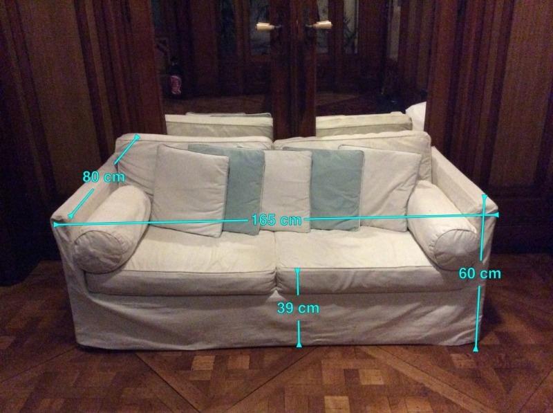 Recyclage, Récupe & Don d'objet : canapé lit 2 places