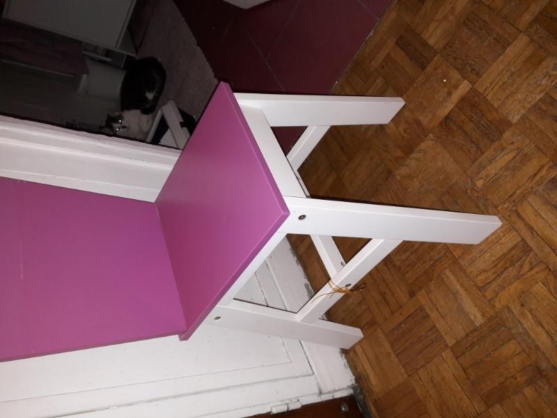 Recyclage, Récupe & Don d'objet : chaise bureau fille