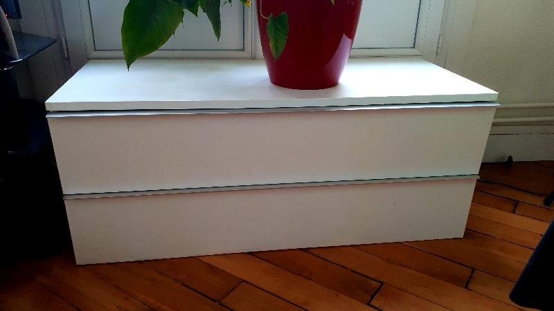 Recyclage, Récupe & Don d'objet : meuble bas de rangement
