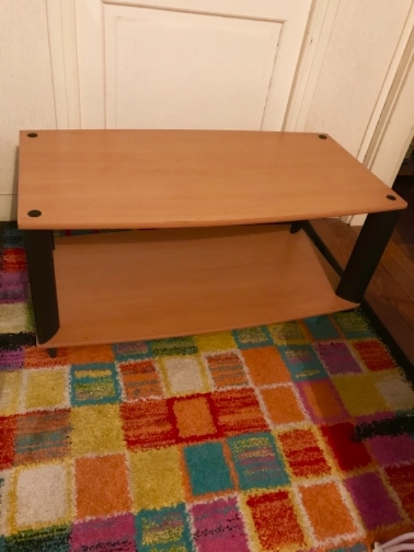 Recyclage, Récupe & Don d'objet : table basse conforama