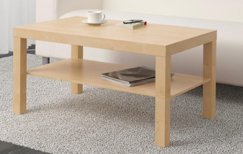 Recyclage, Récupe & Don d'objet : table basse ikéa