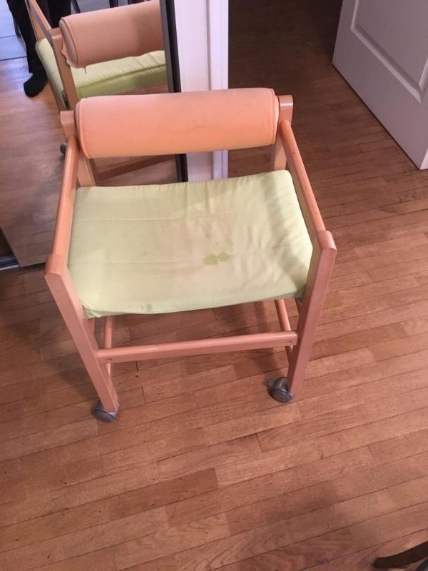 Recyclage, Récupe & Don d'objet : chaise de bureau pour enfant