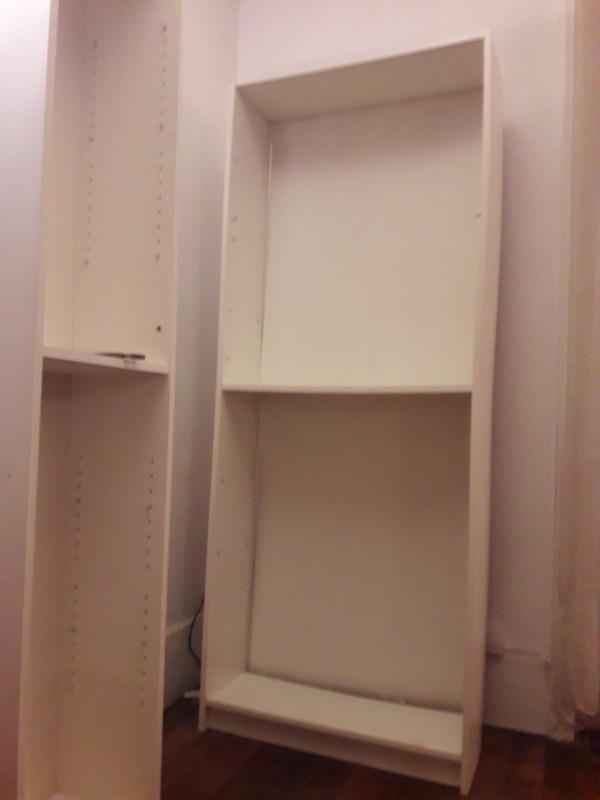 Recyclage, Récupe & Don d'objet : bibliothèque billy blanche