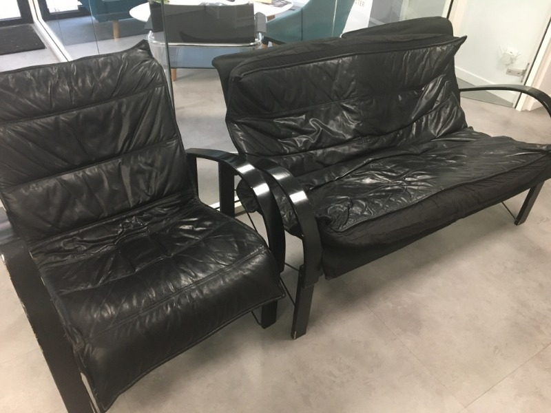 Recyclage, Récupe & Don d'objet : canapé + fauteuil