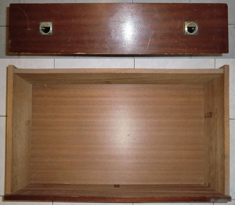 Recyclage, Récupe & Don d'objet : trois tiroirs bois