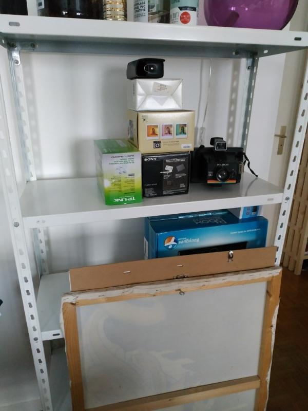 Recyclage, Récupe & Don d'objet : étagère