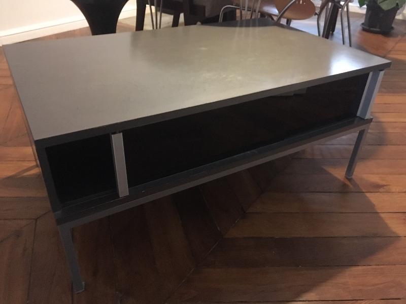 Recyclage, Récupe & Don d'objet : table basse / meuble tv