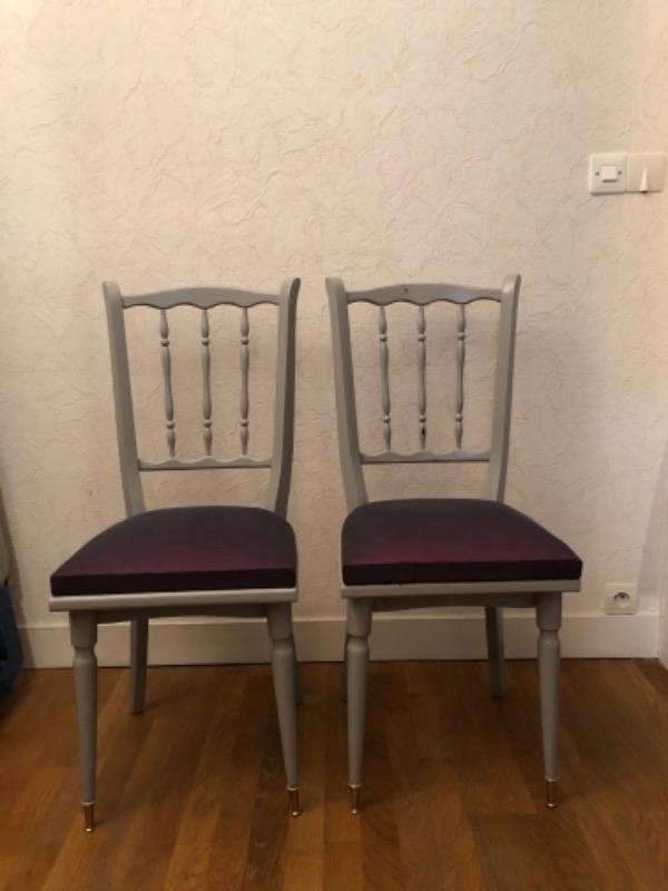 Recyclage, Récupe & Don d'objet : 2 chaises napoleon