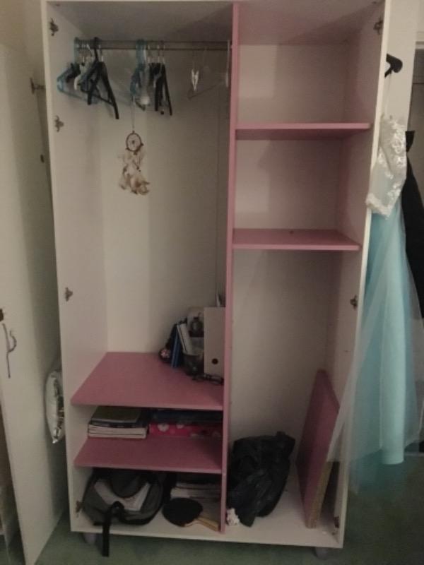 Recyclage, Récupe & Don d'objet : armoire pour fille