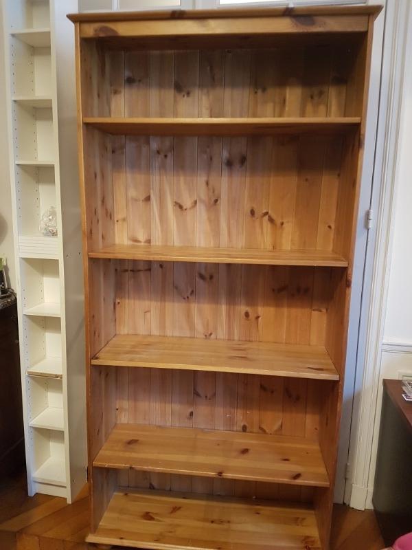Recyclage, Récupe & Don d'objet : armoire bibliothèque