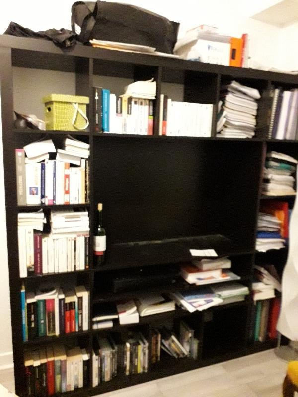 Recyclage, Récupe & Don d'objet : bibliothèque meuble tv