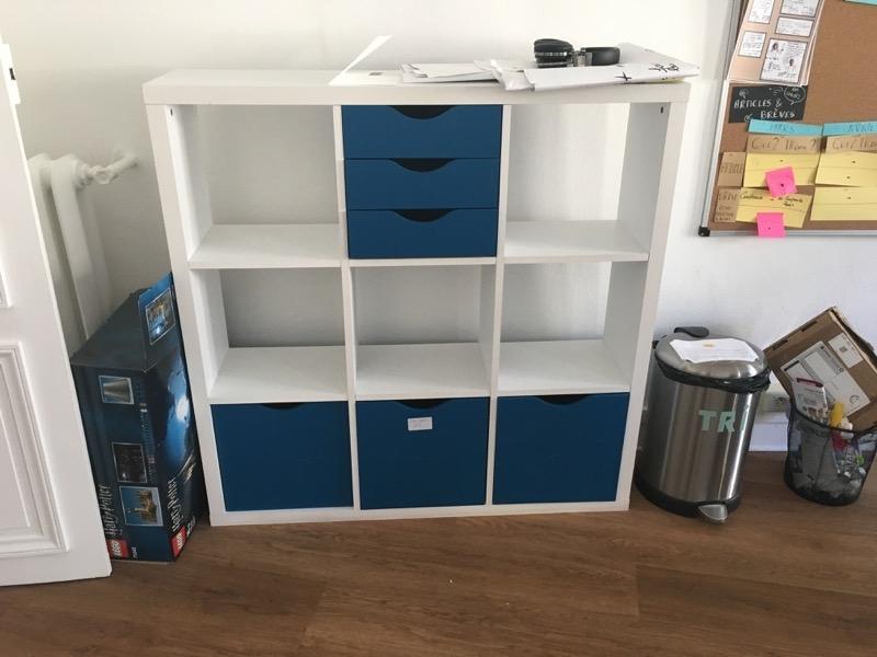 Recyclage, Récupe & Don d'objet : 2 meubles modulables - étagères