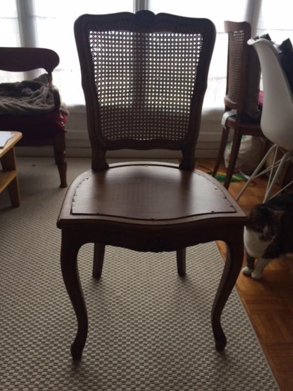 Recyclage, Récupe & Don d'objet : chaises de style