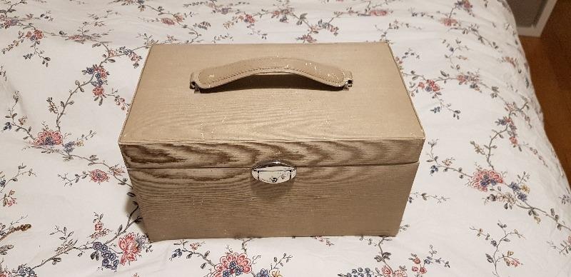 Recyclage, Récupe & Don d'objet : boîte à bijoux