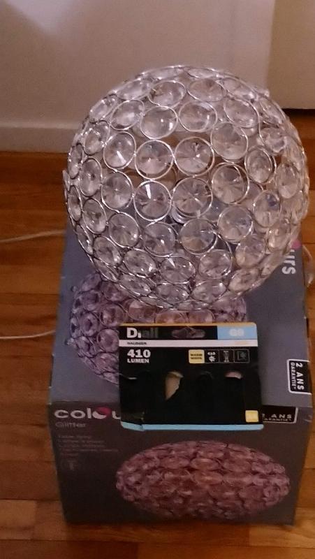 Recyclage, Récupe & Don d'objet : luminaire de chevet
