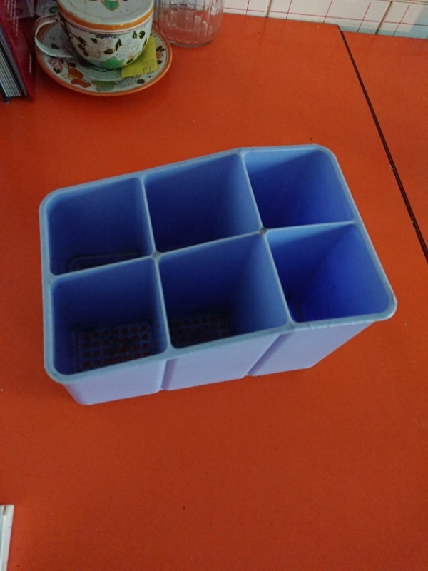 Recyclage, Récupe & Don d'objet : pots pour secher les couverts