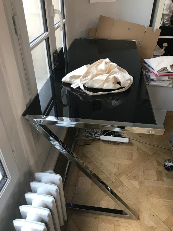 Recyclage, Récupe & Don d'objet : 1 bureau en verre