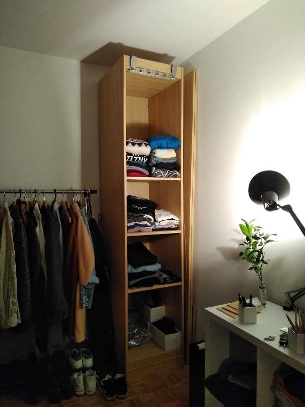 Recyclage, Récupe & Don d'objet : armoire rangement ikea