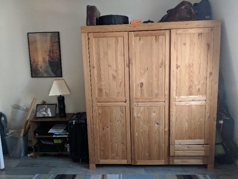 Recyclage, Récupe & Don d'objet : armoire cocktail scandinave parfait etat