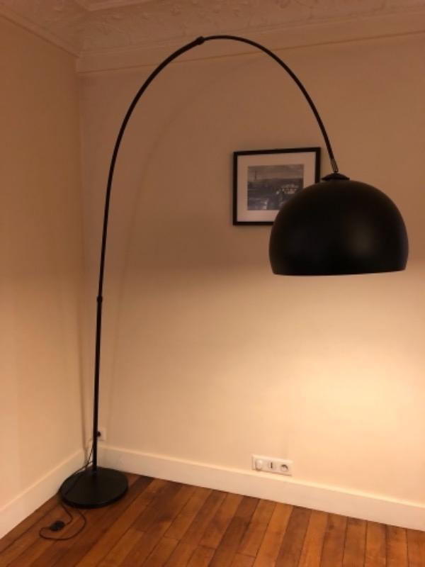 Recyclage, Récupe & Don d'objet : lampe de salon / salle à manger