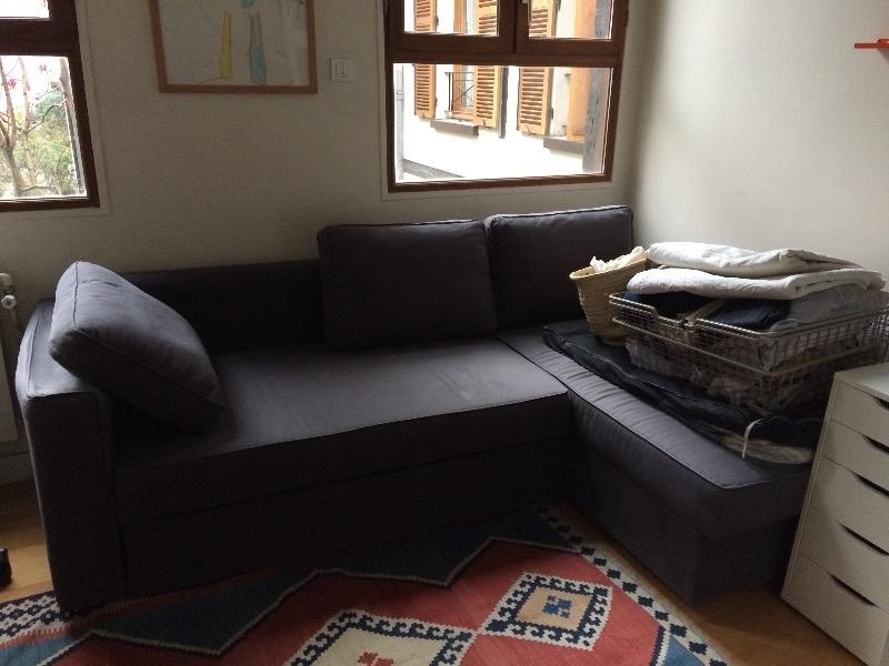 Recyclage, Récupe & Don d'objet : grand canapé en forme de l