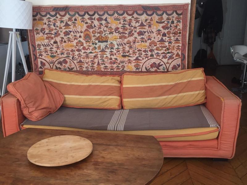 Recyclage, Récupe & Don d'objet : canapé-lit