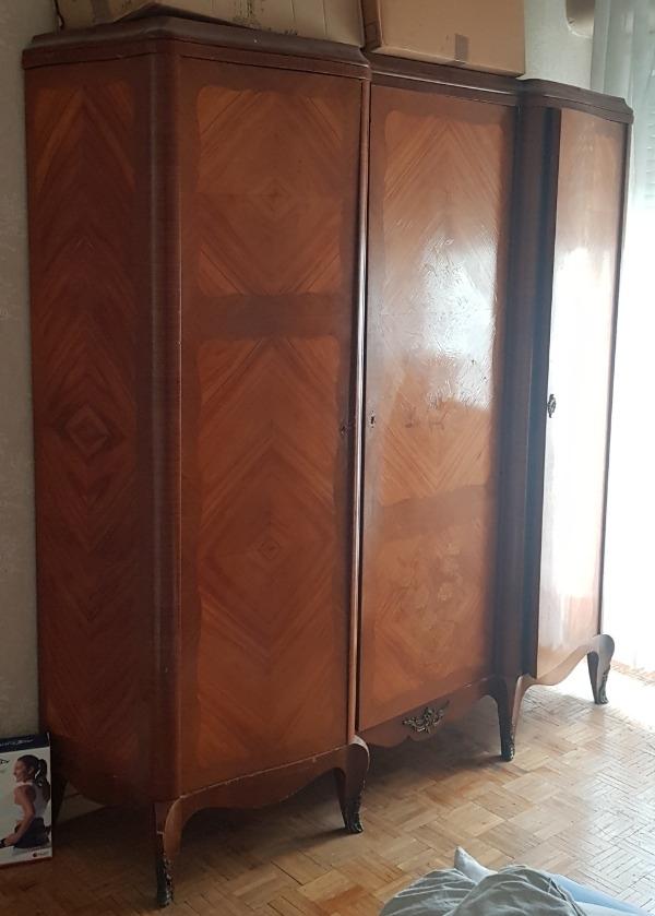 Recyclage, Récupe & Don d'objet : grosse armoire style louis xvi