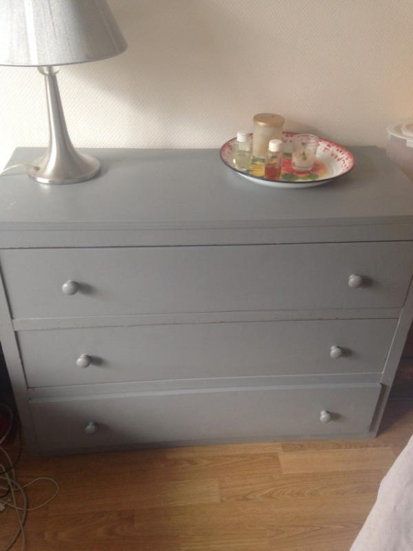 Recyclage, Récupe & Don d'objet : commode 3 tiroirs