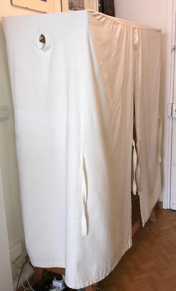 Recyclage, Récupe & Don d'objet : armoire en tissu (ikea)