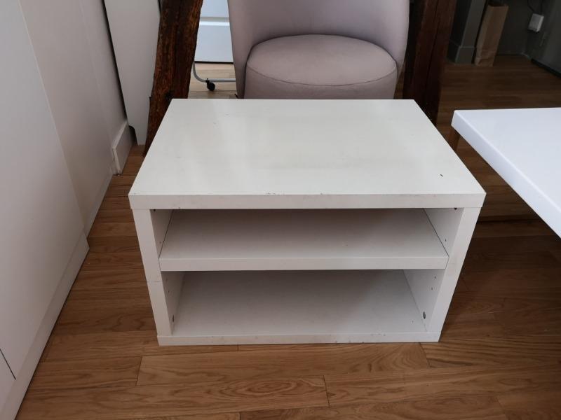 Recyclage, Récupe & Don d'objet : petit meuble tv
