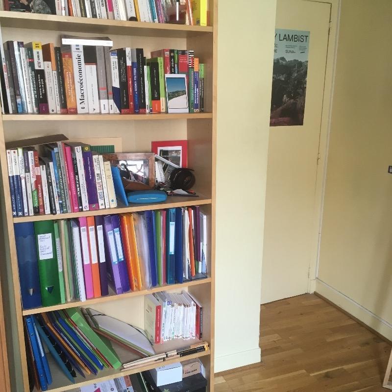 Recyclage, Récupe & Don d'objet : Étagère-bibliothèque