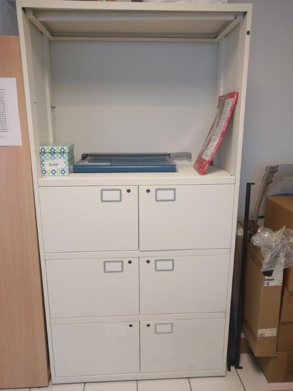 Recyclage, Récupe & Don d'objet : grande armoire métallique