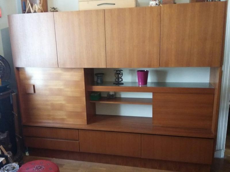 Recyclage, Récupe & Don d'objet : meuble living en teck