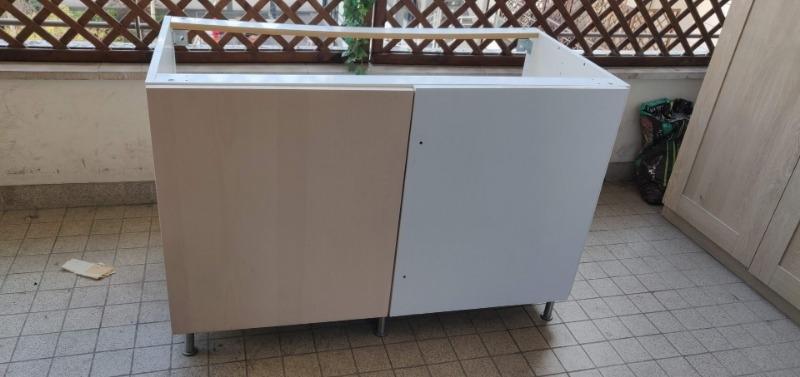 Recyclage, Récupe & Don d'objet : meuble cuisine bas angle