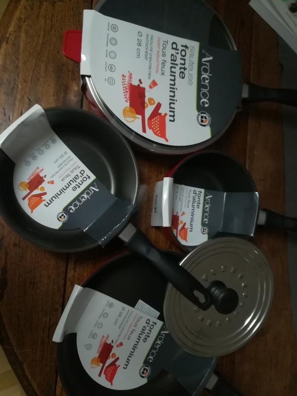 Recyclage, Récupe & Don d'objet : lot poeles et casseroles